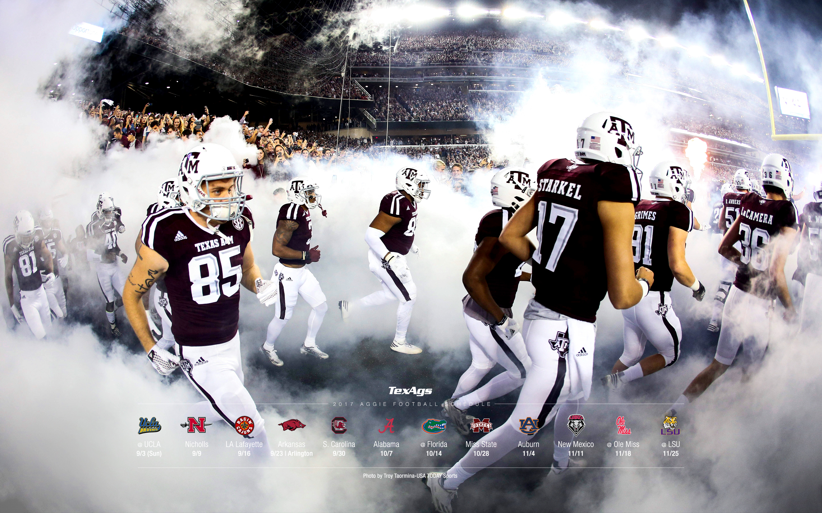 2017 Texas A M Football Wallpapers Texags