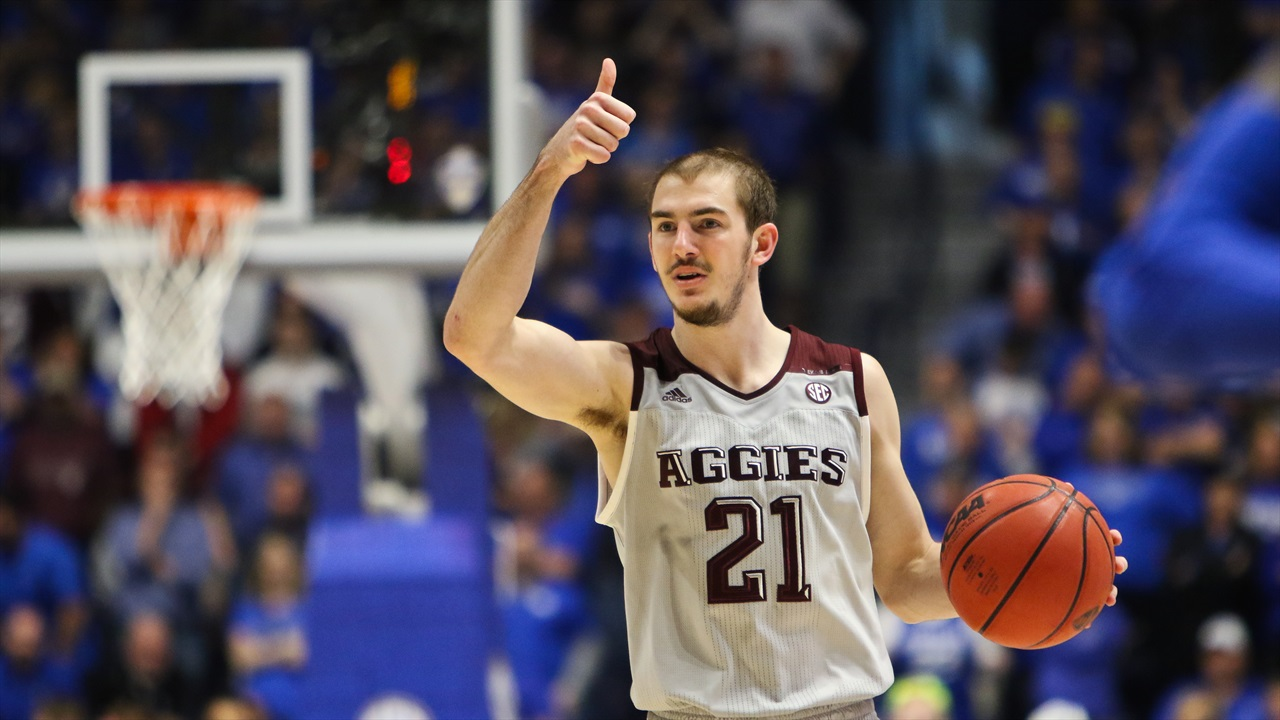 The College Station Kid Alex Caruso As An Nba Prospect Texags