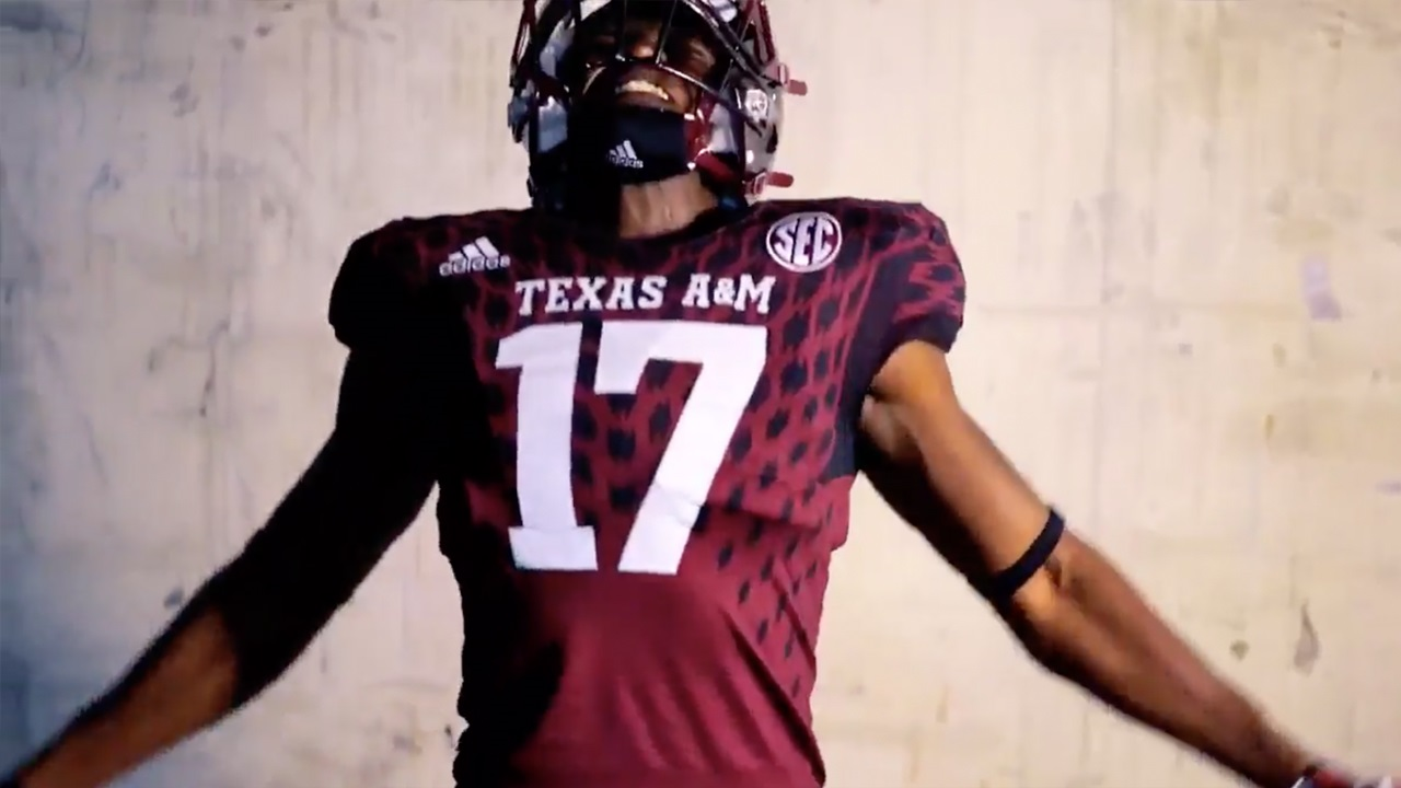 purchase cheap e0c2f 303cb New 2017 Aggie Football uniforms released by adidas | TexAgs