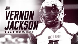 2018 ATH Vernon Jackson commits to Texas A&M