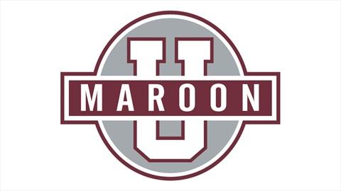 Maroon U