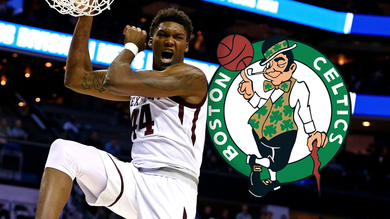 online store fc22e 212d5 Robert Williams selected 27th overall by the Celtics in the ...