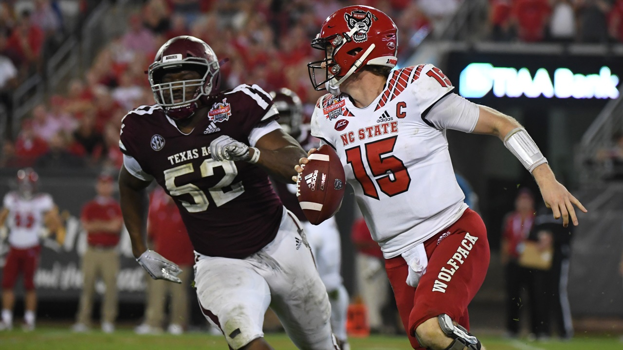 Reloaded A&M defensive front may mean even more heat for opposing QBs