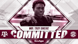 2020 Fort Bend Austin WR Troy Omeire commits to the Aggies