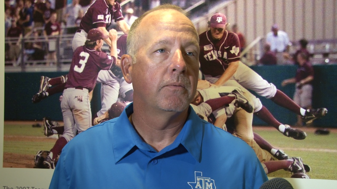Rob Childress, Aggie players heading into SEC tournament with confidence