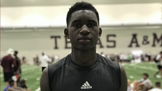 Standout 2021 WR Isaiah Brevard impresses Aggies, receives offer