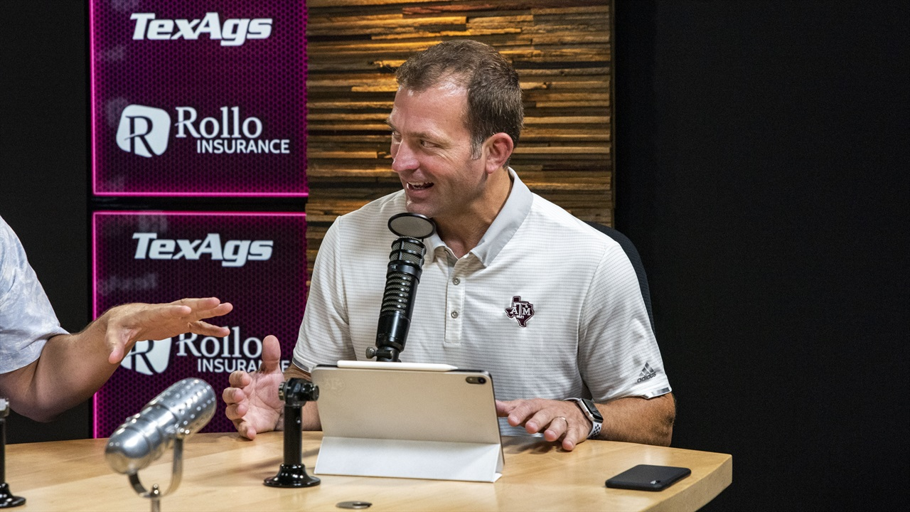 Texas A&M Athletics Director Ross Bjork discusses his view for the future