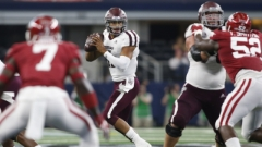 Ball-hawking Hogs defense heightens risk for Mond, A&M passing game