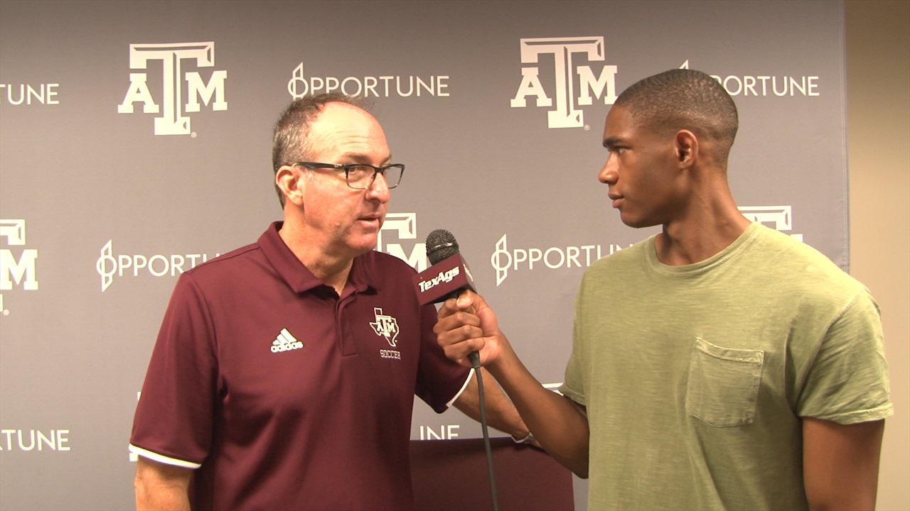 Guerrieri recaps A&M soccer's 3-1 loss, looks ahead to Vandy and Mizzou
