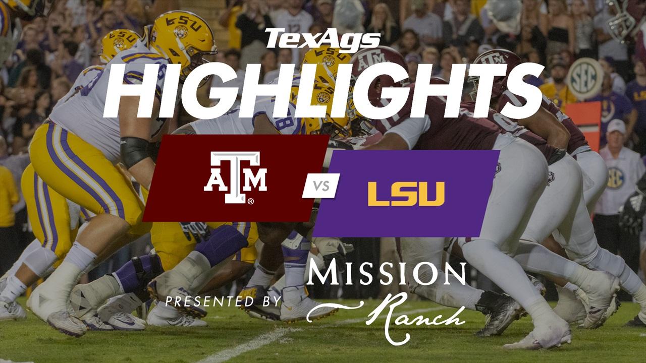 Game Highlights: No. 2 LSU 50, Texas A&M 7