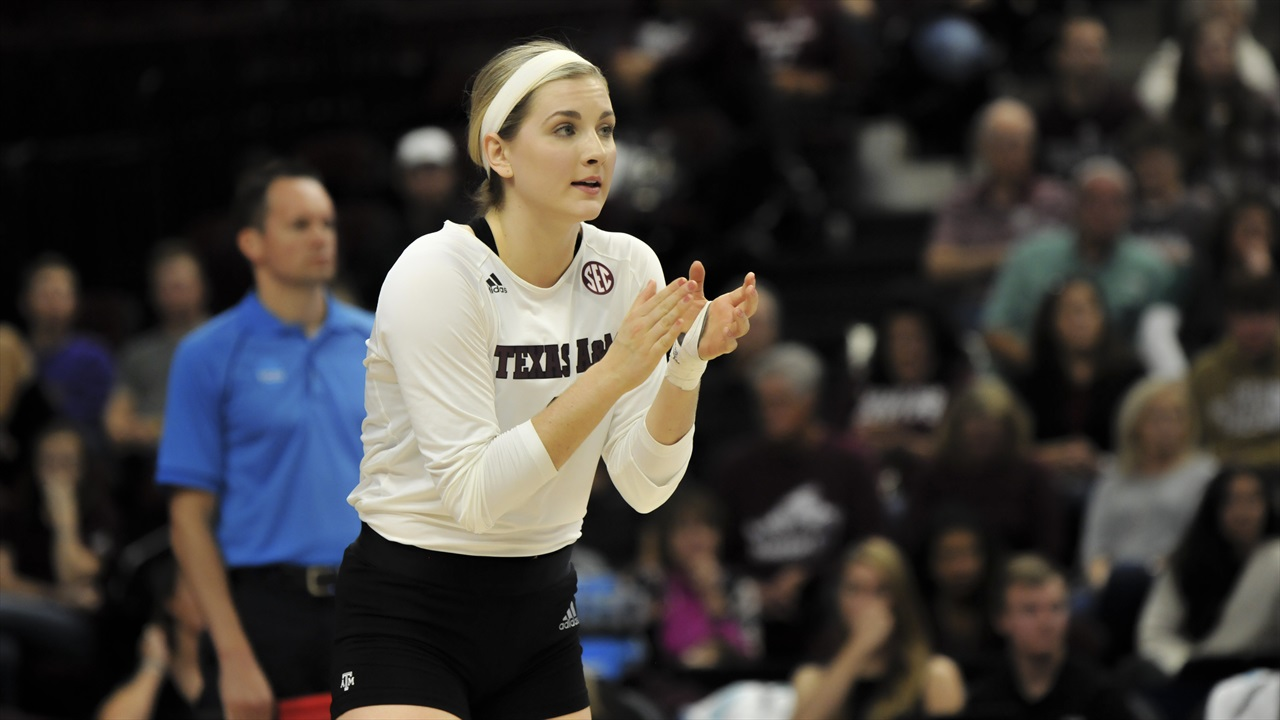 Volleyball Photo Gallery: #13 Texas A&M 3, Rice 1