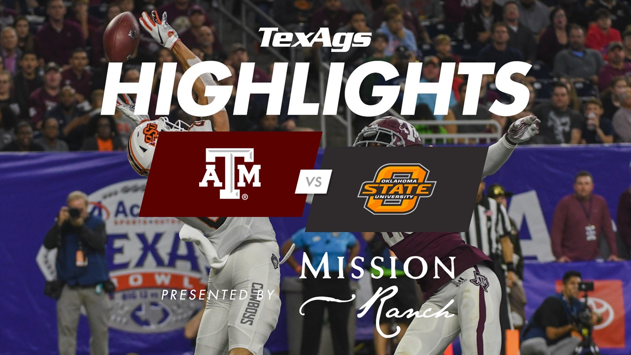 Texas Bowl Highlights: Texas A&M 24, Oklahoma State 21