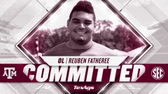 Aggies add Richmond Foster offensive lineman Reuben Fatheree to 2021 class