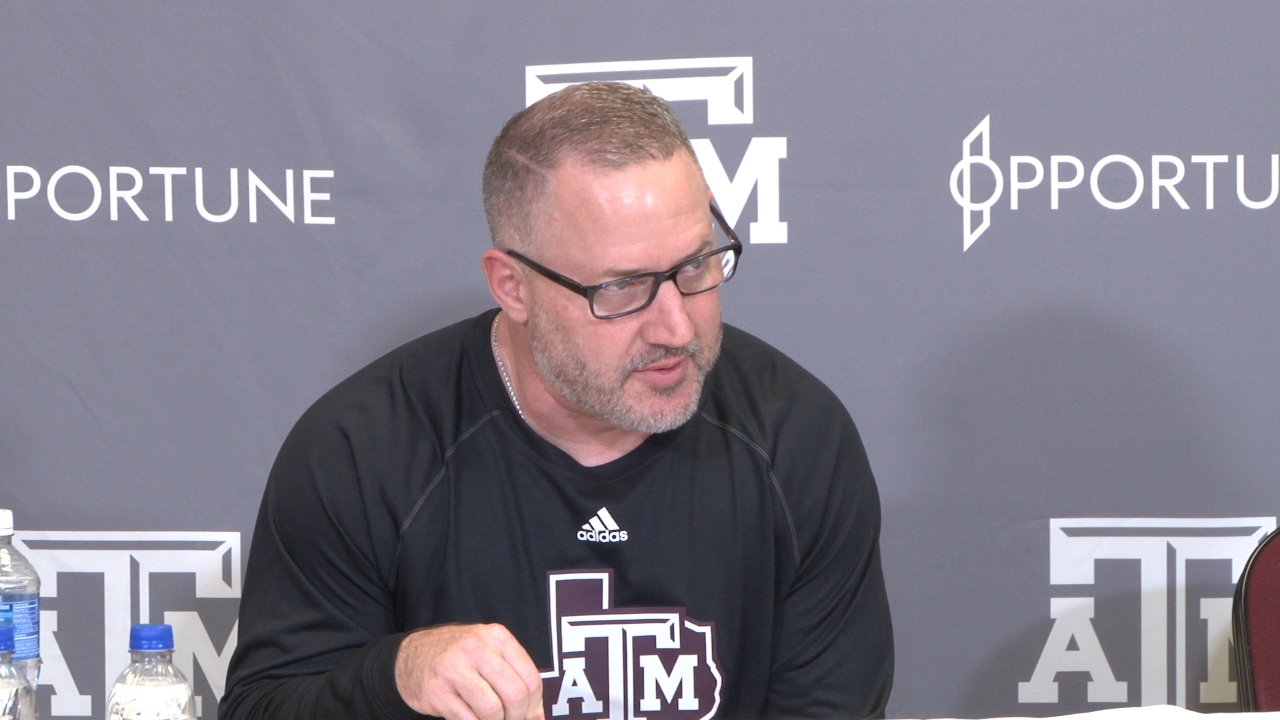 Press Conference: Aggie basketball hits stride against Mississippi State