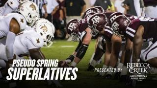 Pseudo Spring Superlatives: Offensive Line