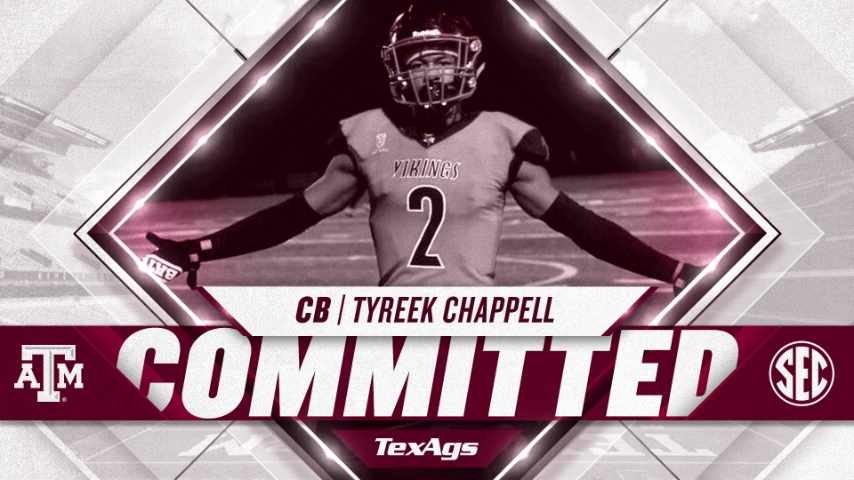 Texas A&M adds Philadelphia cornerback Tyreek Chappell to 2021 class