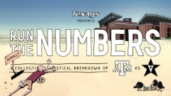 Run the Numbers: #10 Texas A&M vs. Vanderbilt