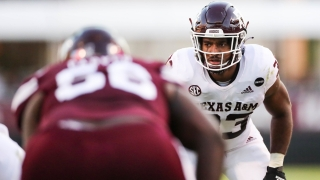 Resurgent play at linebacker key to A&M's dramatic improvement against the run