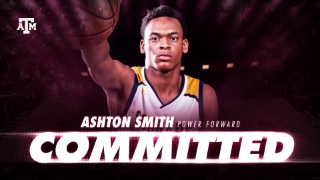 Power Forward Ashton Smith commits to Texas A&M Hoops