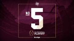 Texas A&M ranked No. 5 in initial College Football Playoff rankings