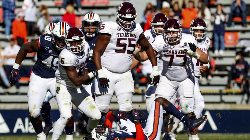 As All-American Kenyon Green slides left, Aggies have big hole to fill at guard