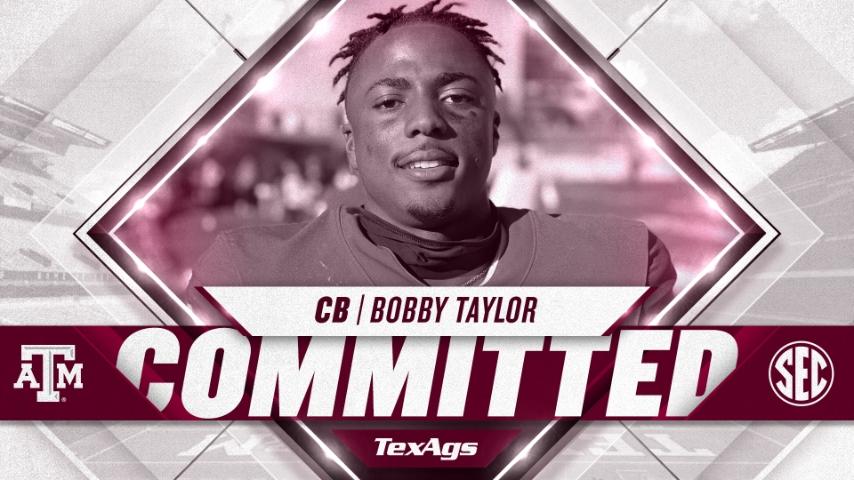 2022 Katy cornerback Bobby Taylor commits to Texas A&M