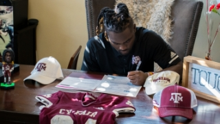 A&M inks No. 7 class with potential to continue climbing national rankings