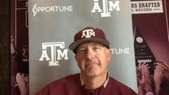 Press Conference: Childress, Aggies discuss final SEC series of the season against LSU