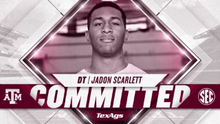 2022 Argyle defensive tackle Jadon Scarlett commits to Texas A&M