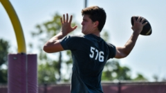 2023 QB Eli Holstein returns to Aggieland for in-depth look at Texas A&M