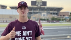 2023 A&M QB commit Eli Holstein shares look inside pool party weekend