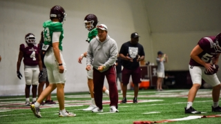 Fall Camp Report: Pieces coming together for Aggies after Week One