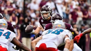 Despite a shutout victory, Fisher not content with A&M's performance