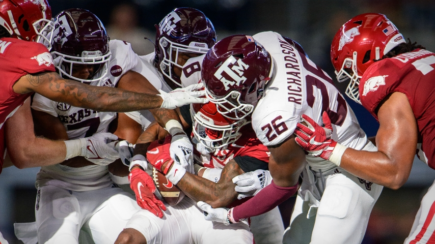 Defense in Review: Arkansas 20, Texas A&M 10