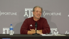 Press Conference: Fisher, Aggies aim to get back on track vs. Mississippi State