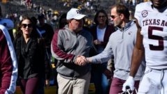 'I love being here': Jimbo Fisher emphatically quells LSU rumor