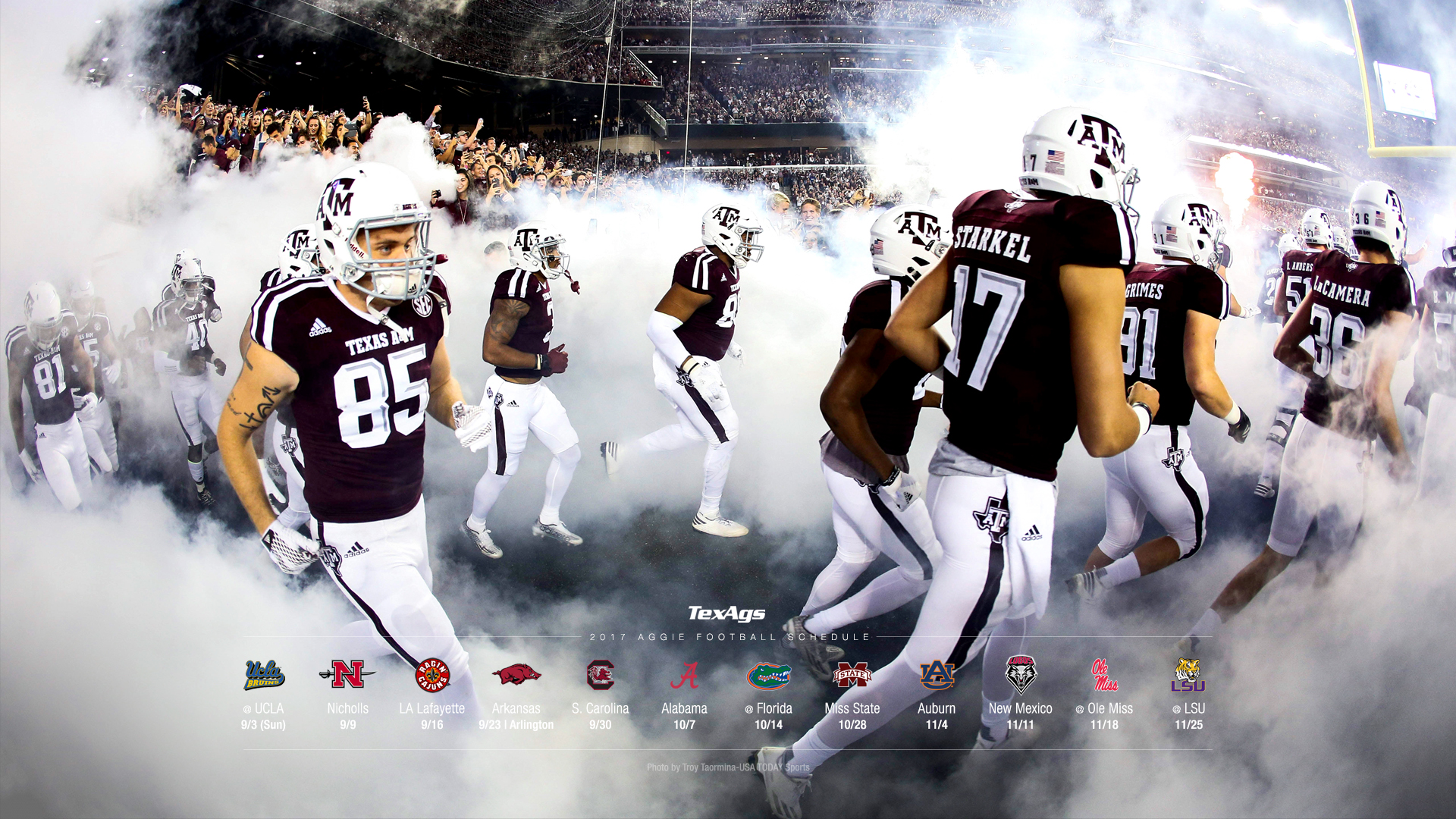2017 Texas A&M Football Wallpapers | TexAgs