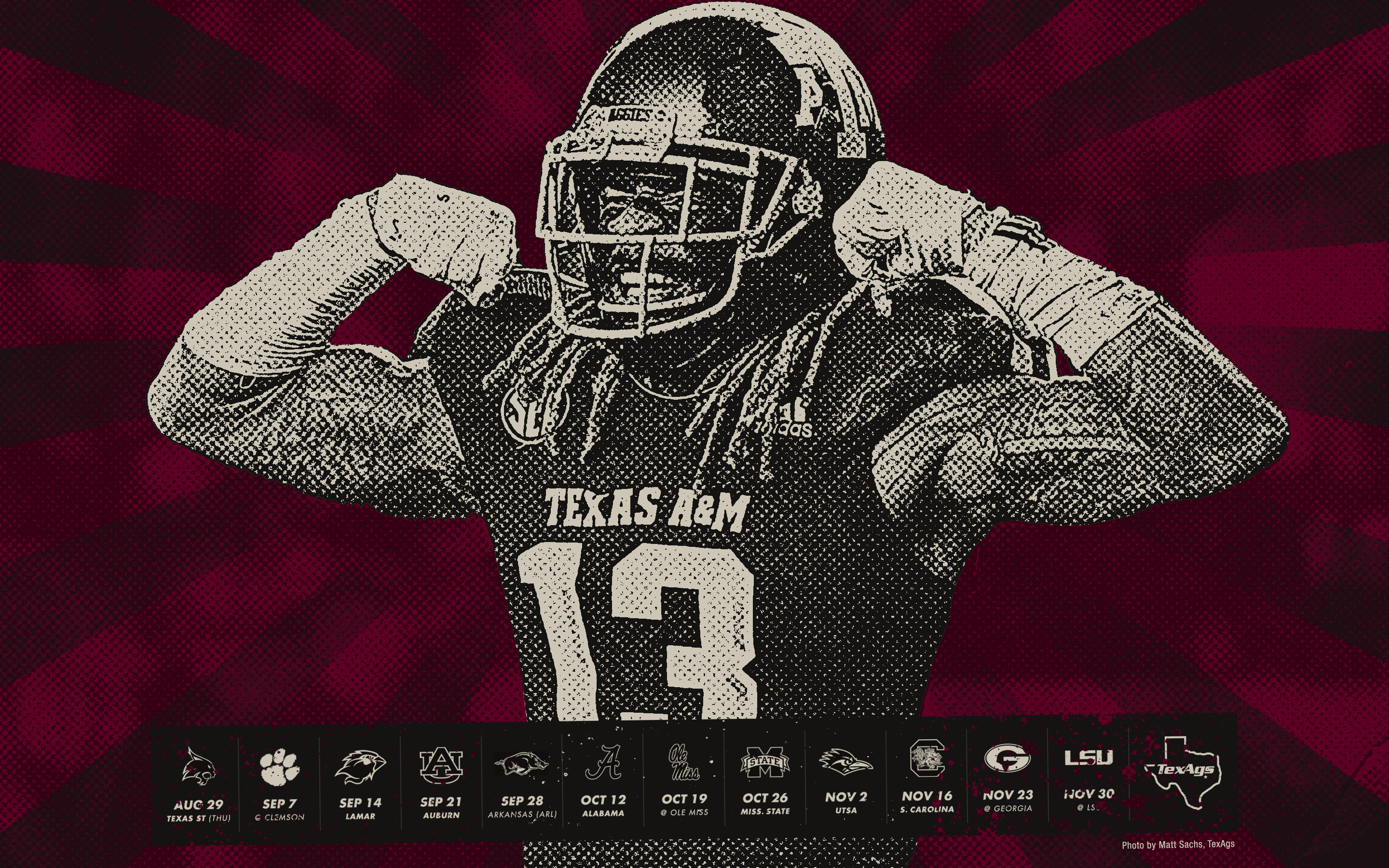 texas a&m 2020 football schedule